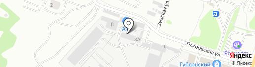 Брусчатка на карте Чехова
