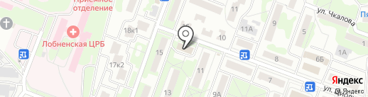 Элит на карте Лобни