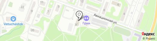 Магазин хлебобулочных изделий на карте Лобни