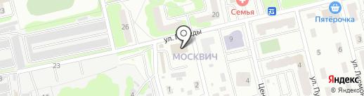 МосОблЕИРЦ на карте Лобни