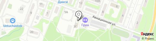 Десна на карте Лобни