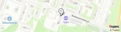 Московский комсомолец на карте Лобни