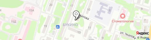 Продуктовый магазин на карте Лобни
