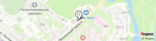 Стэм-Химки на карте Химок