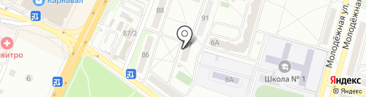 Чеховстрой на карте Чехова