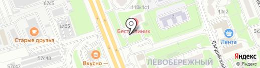 Магазин автозапчастей для Volvo на карте Москвы