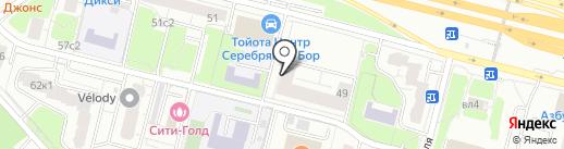 Кукольная азбука на карте Москвы