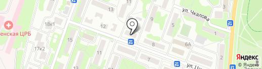 Норма на карте Лобни
