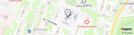 Детский сад №12 на карте Лобни