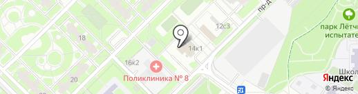 Астэк оптик на карте Москвы