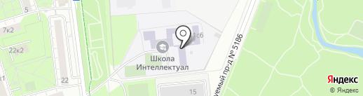 Интеллектуал на карте Москвы
