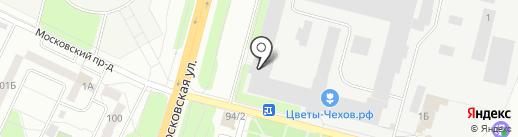 Стройкомплект на карте Чехова