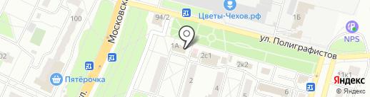 Анекс Тур на карте Чехова