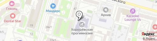 Детский бассейн на карте Москвы
