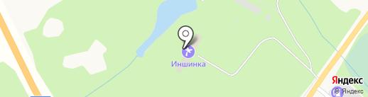 Иншинка на карте Иншинского