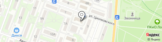 Управление Пенсионного фонда РФ №40 г. Москвы и Московской области на карте Лобни