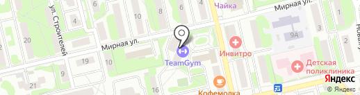 Total Gym на карте Лобни