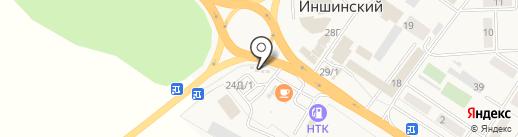 Лазаревская лавка на карте Иншинского