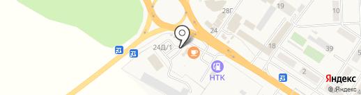 Город мастеров на карте Иншинского