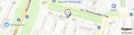 Трансаэро Тур на карте Чехова