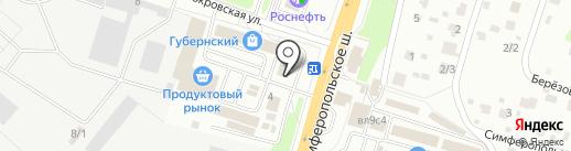 Chehov-style на карте Чехова