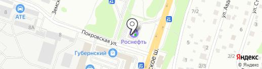 Автомойка на Старом Симферопольском шоссе 73 км на карте Чехова