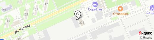 Печатный салон на карте Чехова