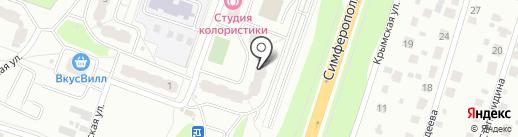 МЦК на карте Чехова