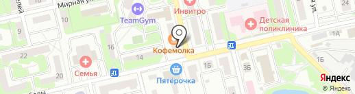 Магазин товаров для рукоделия на карте Лобни