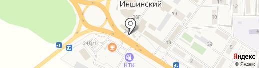 Скандик на карте Иншинского