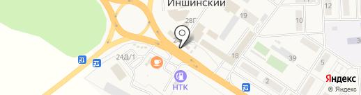 ГУБЕРНСКИЙ КОЛОДЕЗЬ на карте Иншинского