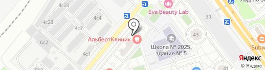 Санитар города на карте Москвы