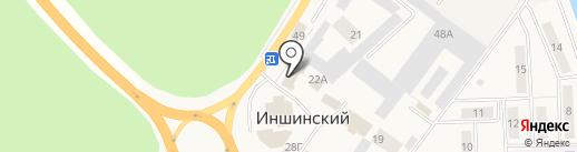 Ремстройпроект на карте Иншинского