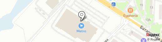 Metro Cash & Carry на карте Лобни