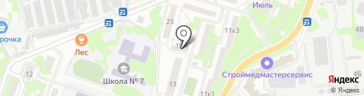 Zamki03 на карте Лобни