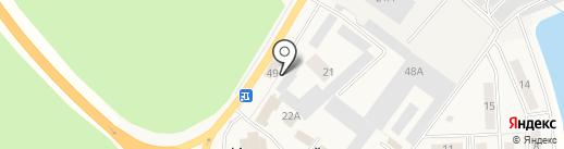 Промрегион на карте Иншинского