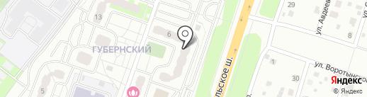 Василек на карте Чехова