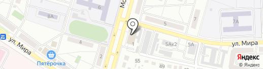 Браслет на карте Чехова