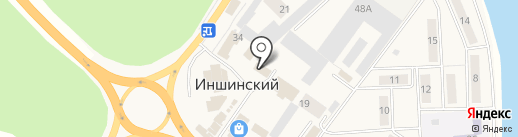 Александра на карте Иншинского