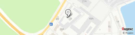 Мастерская по изготовлению ключей на карте Иншинского