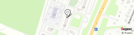 Комиссионный магазин на Земской на карте Чехова