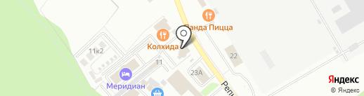 Меридиан на карте Чехова
