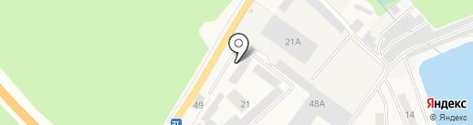 Векторком на карте Иншинского