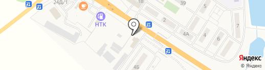 Сеть Авто на карте Иншинского