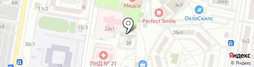 Китёнок на карте Москвы