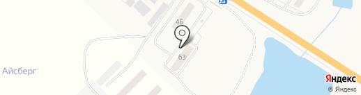 Иншинский на карте Иншинского