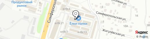 Товары для дачи на карте Чехова