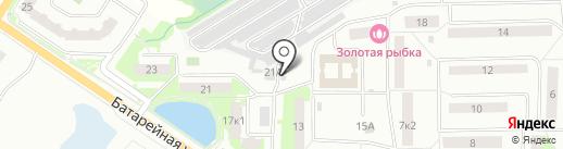 Автозапчасти на карте Лобни