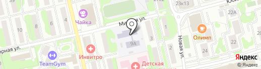 Детский сад №9 на карте Лобни
