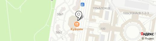 Оптика-Стиль на карте Москвы
